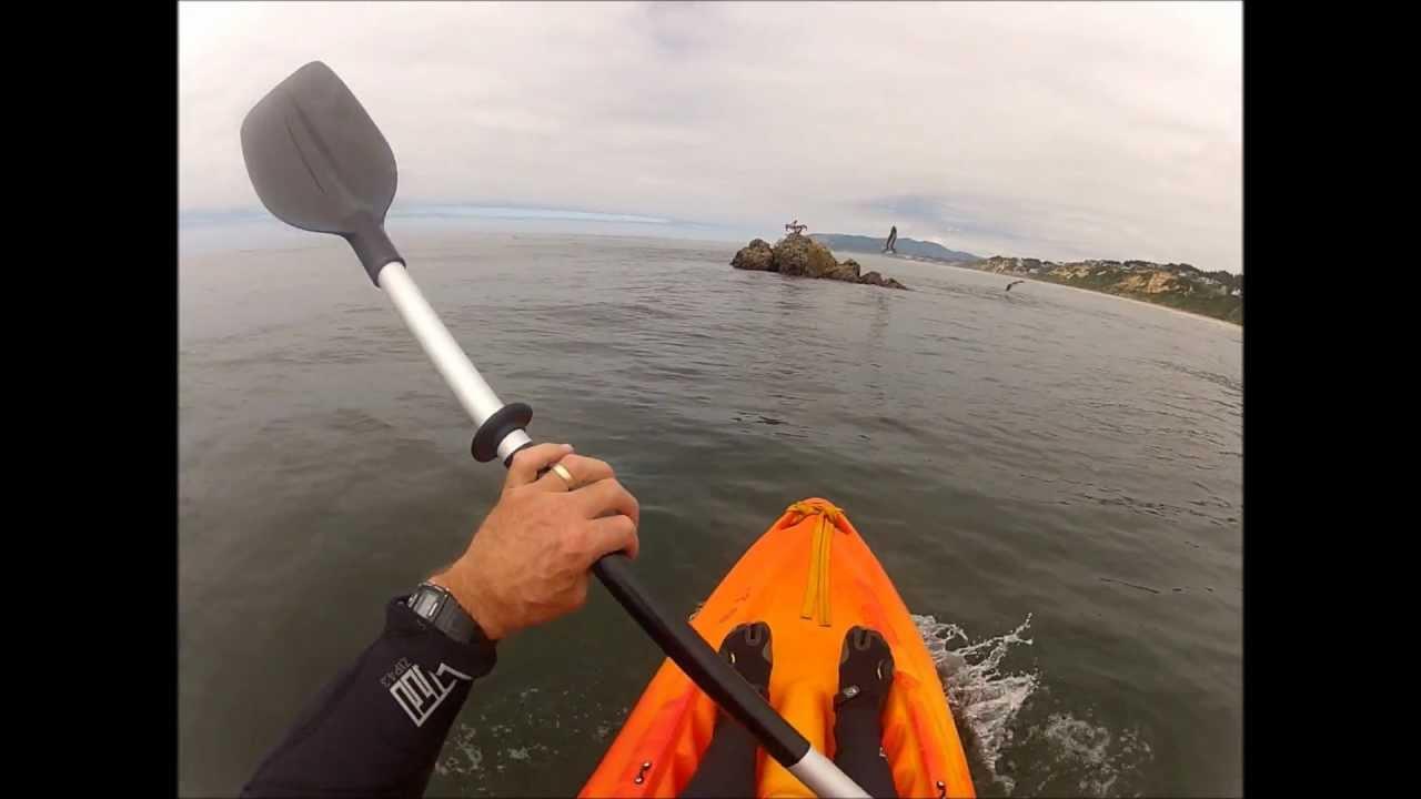 Ocean kayak fishing in lincoln city oregon youtube for Fishing in lincoln city oregon
