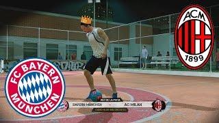 Fifa Street Gameplay Xbox 360- Bayern Munich Vs A.C Milan El Rey de la Pista. Pura magia