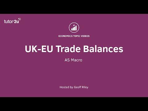 UK-EU Trade Balances