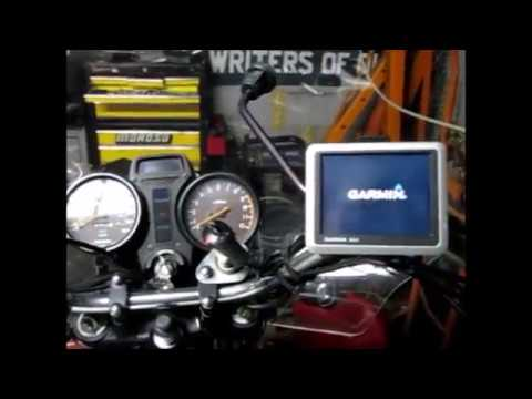 Install 12 volt power outlet on a motorcycle