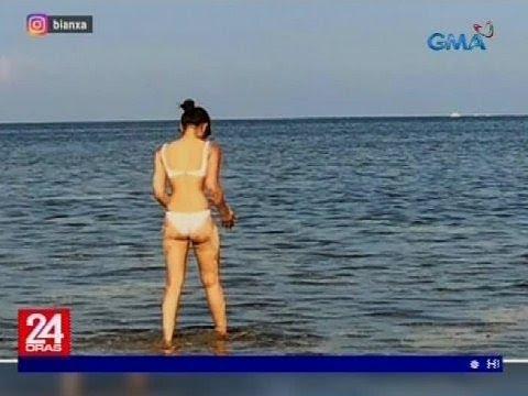 Bianca Umali, Sizzling Hot Sa Bagong Beach Photo