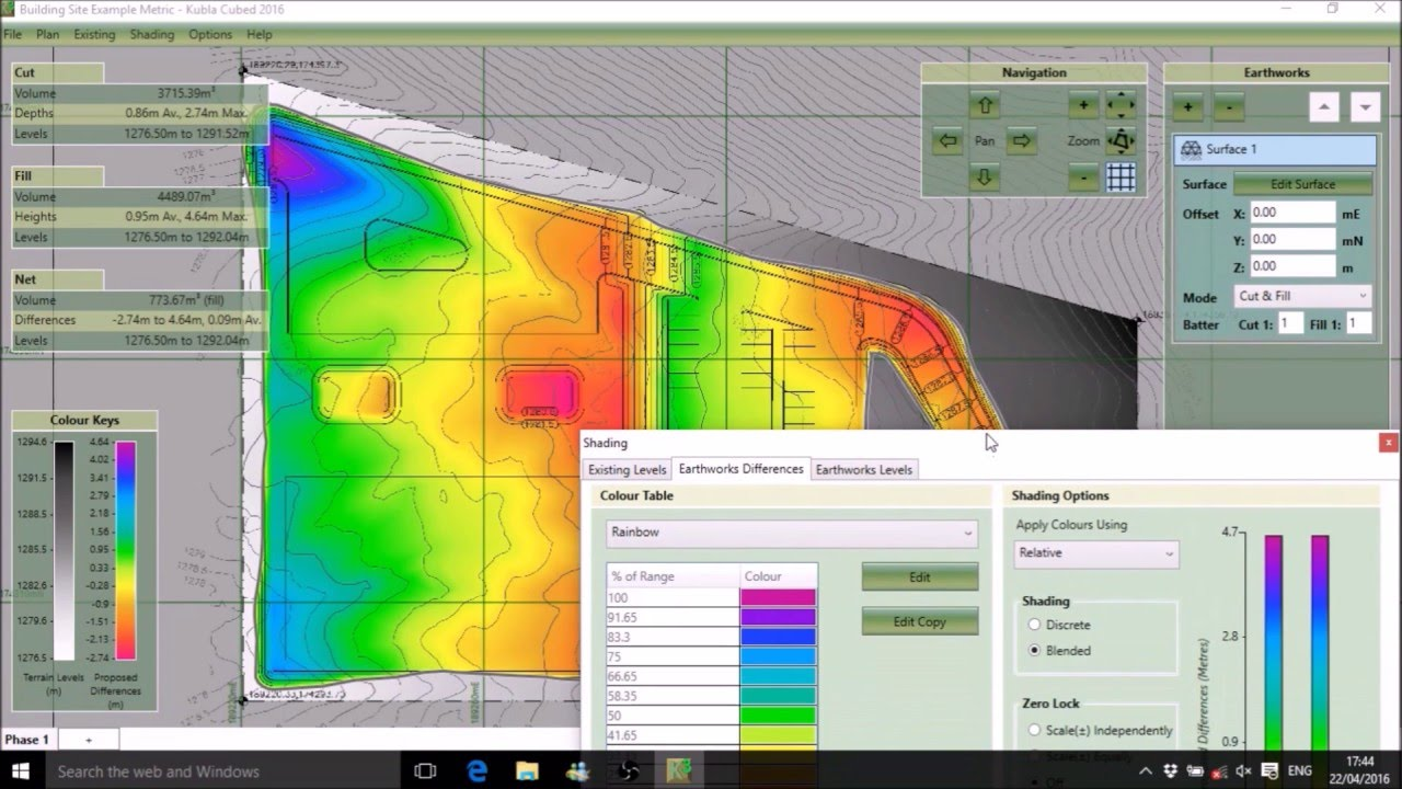 kubla cubed the easy to use earthworks software