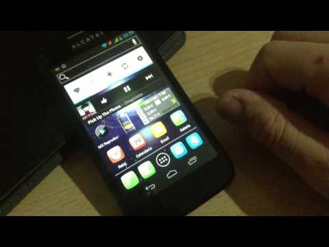 Impresiones del Alcatel OneTouch 997d Ultra