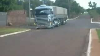 Scania R380 bitrem graneleiro