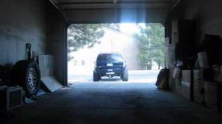 jeep grand cherokee wj lifted the flowmaster 54 sound