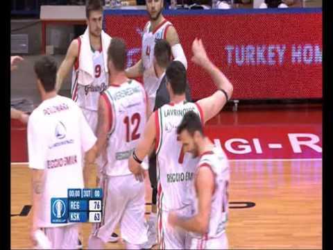 Darjus Lavrinovic - 3^Q Half Court Buzzer vs Pinar Karsiyaka (13-01-16)