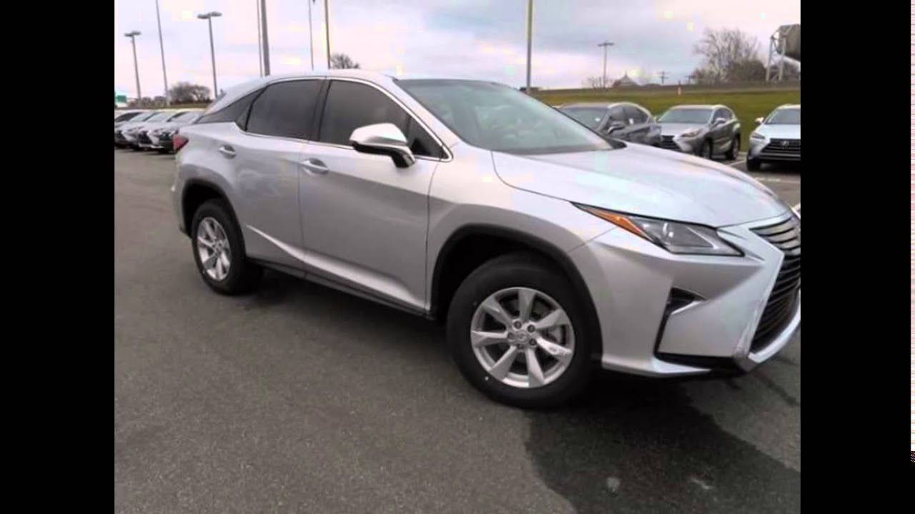 Lexus 350 Es >> 2016 Lexus RX Silver Lining Metallic - YouTube