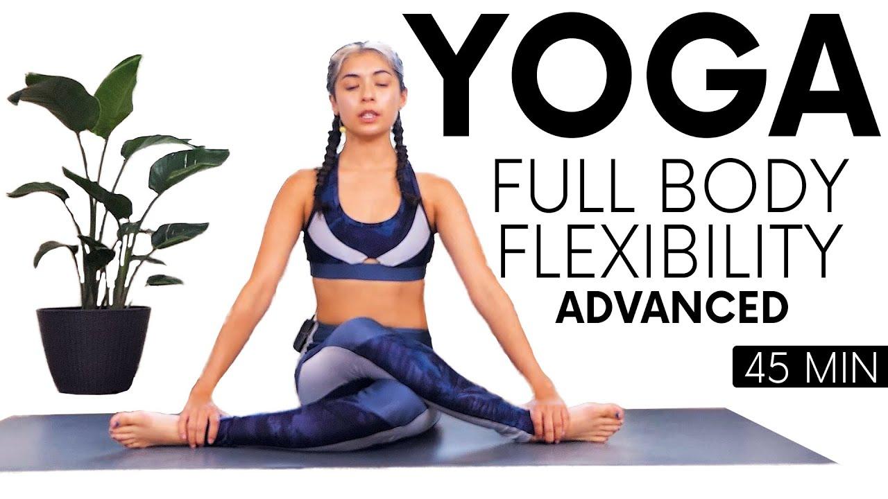 Deep Full Body Yoga Stretch   Advanced Flexibility with Alex