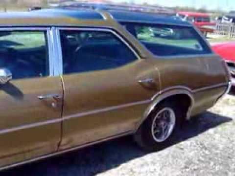 1970 Oldsmobile Vista Cruiser Wagon Skylights In The