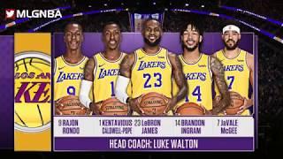 Los Angeles Lakers vs Golden State Warriors Full Game Highlights 10 10 2018, NBA Preseason