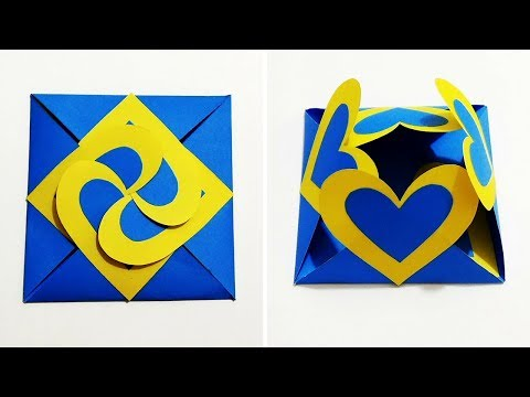 How to Make Love Card Sealed With Hearts/ Without Template | Heart Lock Greeting Card | Craftastic
