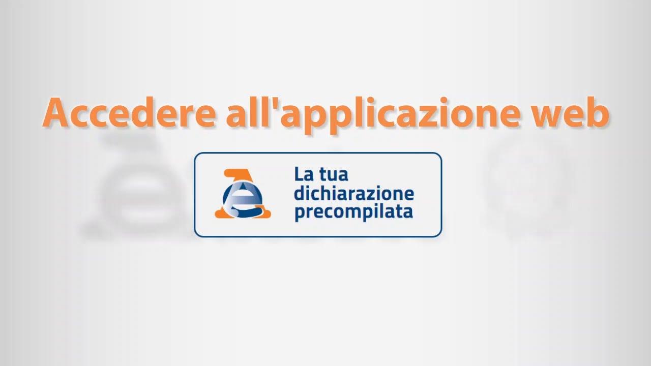 SCARICA ACCESSO MODELLO 730 PRECOMPILATO DA