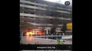 Hatay Termal Otelde Çikan Yangin !!!   Kontrol Altina Alindi
