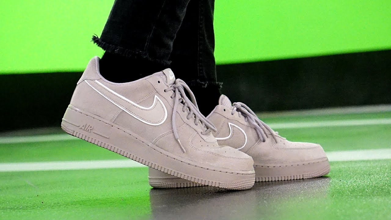 "on sale casual shoes the latest Nike Air Force 1 '07 Suede ""Moon Particle"" 