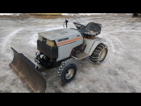 GT6000 Plow Setup With Winch Lift