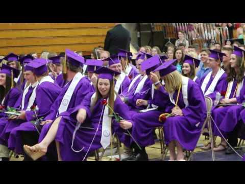 Ladysmith High School graduation 2017 class celebrates