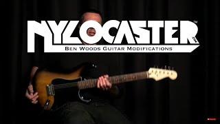 BURST NYLOCASTER - Ben Woods - Nylon String Electric Guitar