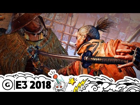 Sekiro: Shadows Die Twice's World Takes Cues from Dark Souls | E3 2018