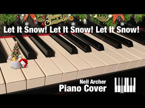 Let It Snow Let It Snow Let It Snow - Dean Martin - Piano Cover