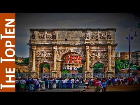 The Top Ten Monumental Triumphal Arches