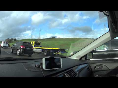 Highway North 101 Multi-Car Accident (Near Gilroy) 2-7-2015
