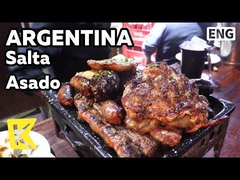 【K】Argentina Travel-Salta[아르헨티나 여행-살타]전통춤과 아사도/Asado/Gaucho/Traditional dance/Pena Los Cardones
