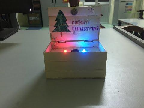 How To Make Christmas Music Box At Home