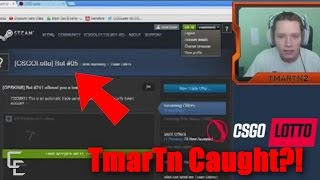 TmarTn Logged into CSGO Lotto Bot, Betting Scandal thumbnail