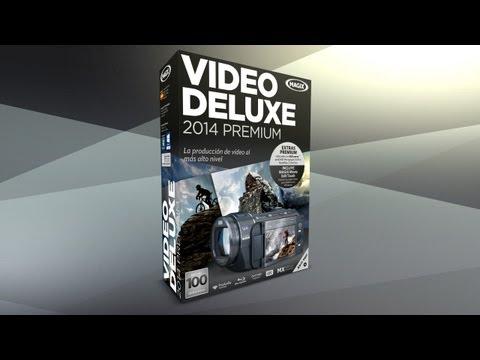 MAGIX Video deluxe 2014 Premium (ES) - Video editor