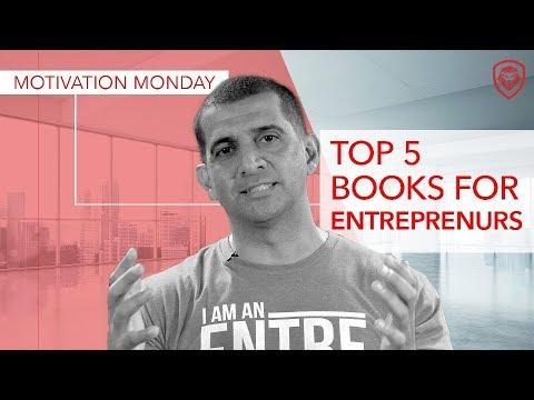 Top 5 Books to Read as an Entrepreneur