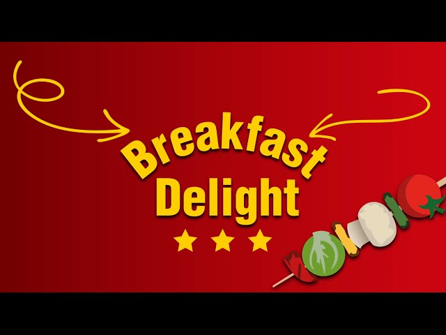 Ultimate Burger Builder Winner - Breakfast Delight