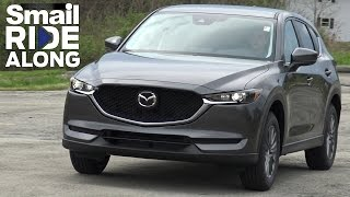2017 Mazda CX-5 - Smail Ride Along - Virtual Test Drive and Review