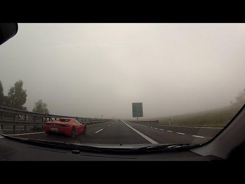 Autostrada A21 in Piedmont (Piemonte), Italy (Italia) – onboard camera
