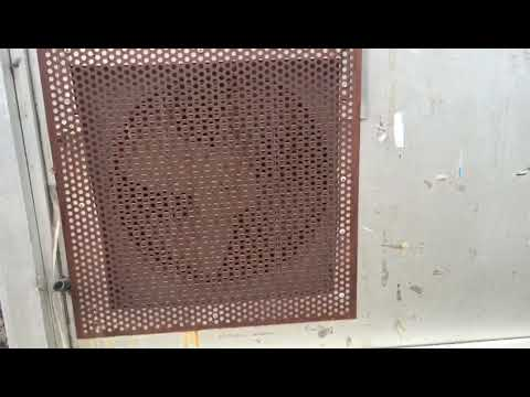 air-conditioning-condenser-fan-with-a-decorative-cover