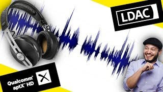 Bluetooth Audio Quality Showdown! LDAC vs APTX HD vs AAC vs SBC!