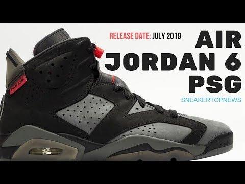 Best Look Yet At The Air Jordan 6 Paris Saint Germain