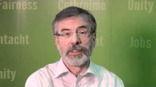 Gerry Adams on the Taoiseach