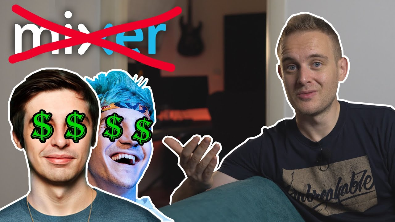 Mixer is SHUTTING DOWN - sold to Facebook Gaming | Ninja and Shroud are coming to Twitch?!