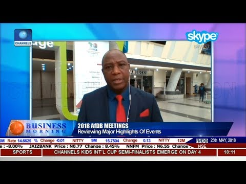 Channels TV Correspondent Reviewing Major Highlights Of AfDB Meeting   Business Morning  
