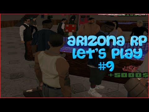 [SAMP] Let's Play - Играем в казино #9 [Arizona RP Chandler]