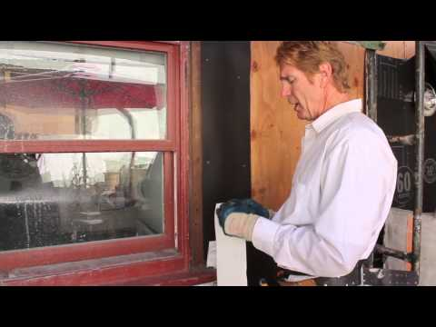 adding new flashing paper on old wooden windows