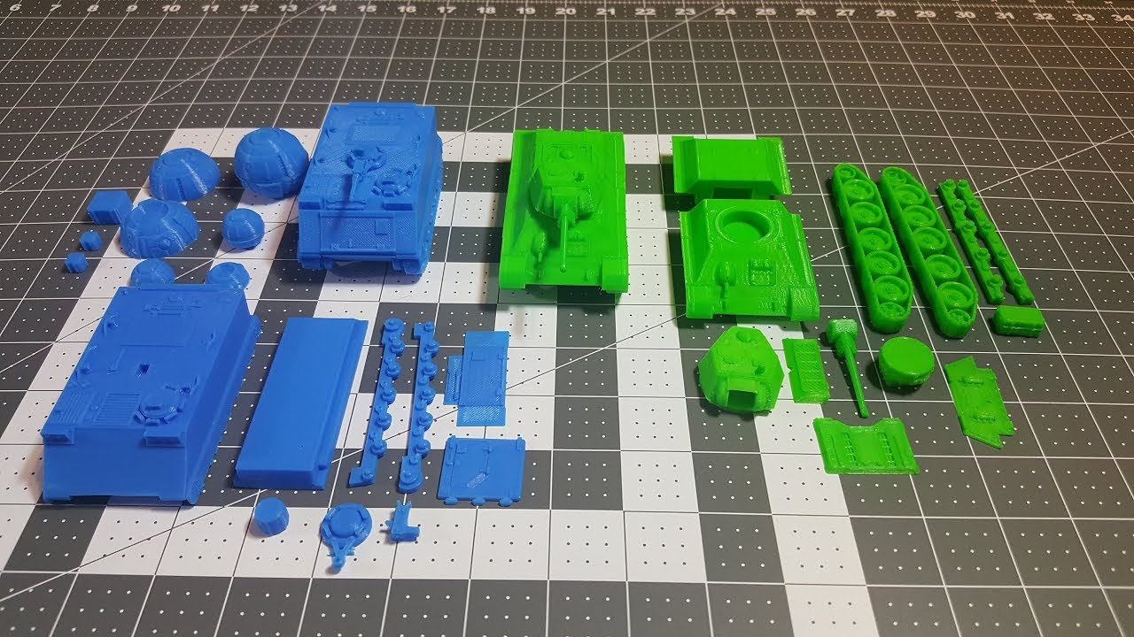 picture relating to Printable Tanks named Kickstarter Showcase: 3D Printable Tanks via 3D Wargaming