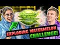 WATERMELON CHALLENGE! (ft. FBE React Cast)
