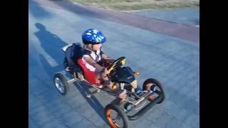 Самодельный детский электромобиль