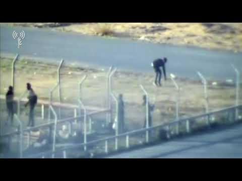 Gazans try to torch Kerem Shalom Crossing