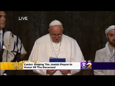 Pope Attends Interfaith Prayer Service