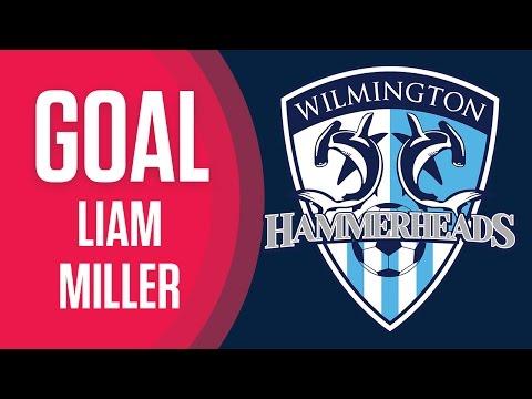 GOAL: Liam Miller, Wilmington Hammerheads