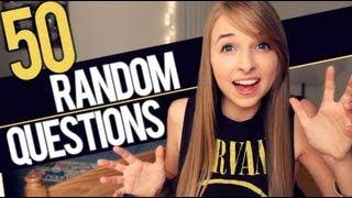 50 RANDOM QUESTIONS
