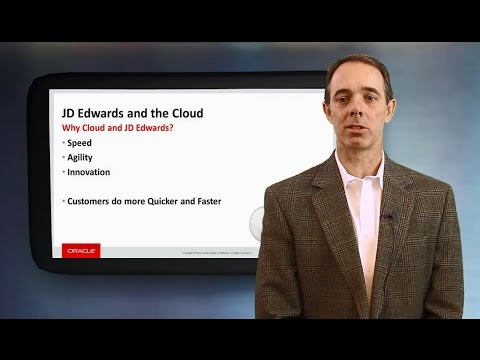 JD Edwards and the Cloud with Jeff Erickson, Director of JD Edwards Product Management
