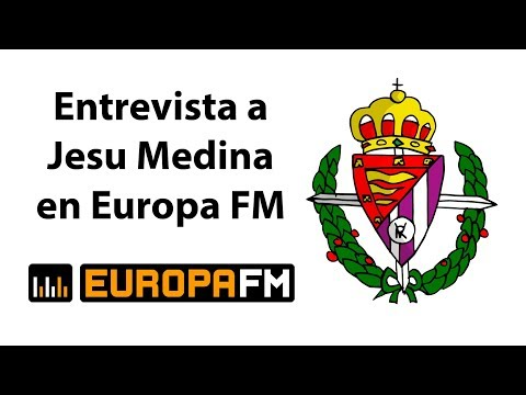Entrevista a Jesu Medina en Europa FM 📻 Himno del Pucela (R.Valladolid) Viva la Radio, Manu Freire